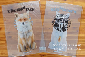 【KITAKITSUNE FARM】きつねクリアファイル