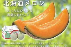 北海道メロン -北海道産赤肉メロン-